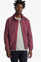French Connection Garment Dyed Ottoman Track Jacket