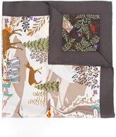 Salvatore Ferragamo Winter landscape scarf