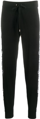 MICHAEL Michael Kors Side Logo Stripe Slim-Fit Track Pants