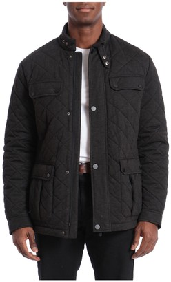 Bagatelle Men's Sport Water-Resistant Quilted Barn Jacket