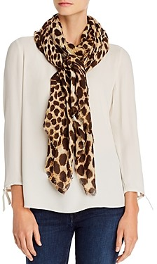 Echo Cheetah Print Oblong Scarf