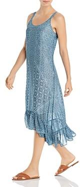 Nic+Zoe Santorini Tile Print Midi Dress