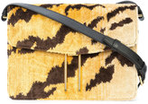 Hayward tiger print H crossbody bag - women - Calf Suede/Silk Velvet - One Size