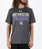 Under Armour Men's Northwestern Wildcats College Wordmark T-Shirt
