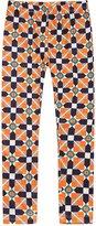 Richie House Girls' Patterned Stretchy Legging Pants RH0704-Q-7/8