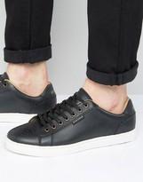 Ben Sherman Tredegar Sneakers Black Leather