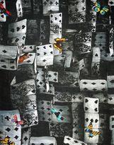 Fornasetti Oblong scarf