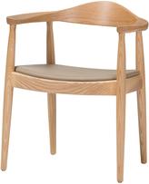 Baxton Studio Dalton Wood Accent Chair