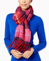 Echo Mulberry Plaid Scarf