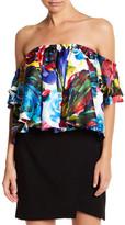 VAVA by Joy Han Ester Off-the-Shoulder Floral Shirt