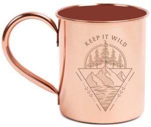 United By Blue Keep It Wild 14oz Copper Enamel-Lined Mug