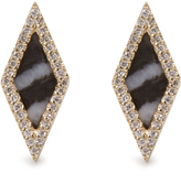 Monique Péan Diamond, agate & white-gold earrings