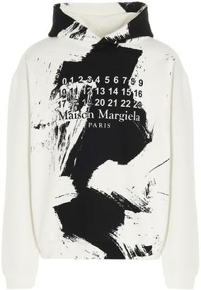 Maison Margiela diagonal Hoodie
