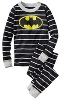 Hanna Andersson 'DC Comics TM Batman' Organic Cotton Fitted Two-Piece Pajamas (Toddler Boys, Little Boys & Big Boys)