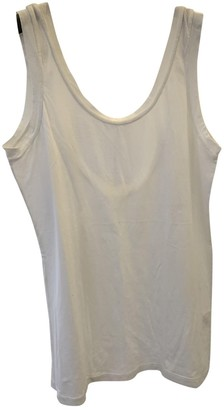 Jucca White Cotton Top for Women