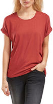 Only NEW Moster Short Sleeved O-Neck Top Rust