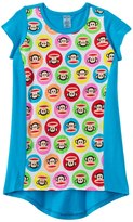 Paul Frank Girls' Julius Circles Hi Lo Cover Up Dress (2T4T) - 8129681