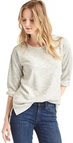 Gap Softspun double-face sweatshirt