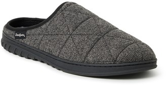 Dearfoams Men's FreshFeel Quilted Clog Slippers