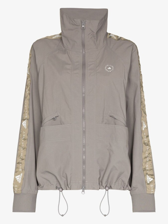 Thumbnail for your product : adidas by Stella McCartney Recycled Zip-Up Track Jacket