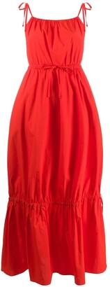 Parker Chinti & spaghetti strap dress