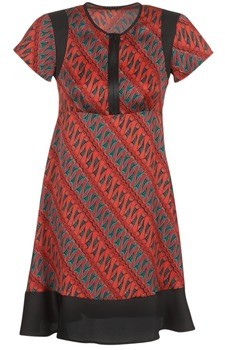 Sisley ZEBRIOLO women's Dress in Red