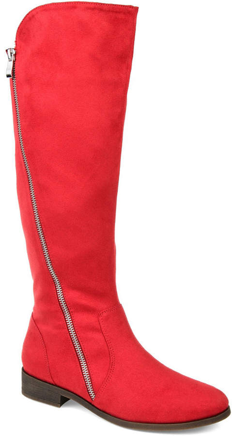 ad9a396f5ee97 Wide Calf Boots Red - ShopStyle