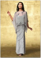 Alyce Paris Mother Of The Bride - 29088 Elegant Dress In Mercury