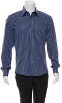 Versace Long Sleeve Button-Up Shirt