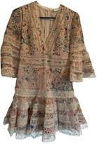 Zimmermann Beige Lace Dress for Women