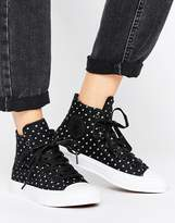 Converse Chuck Taylor All Star Ii Hi Top In Polka Dot