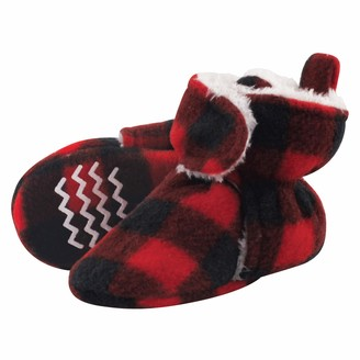 Hudson Baby Unisex Baby Cozy Fleece and Sherpa Booties