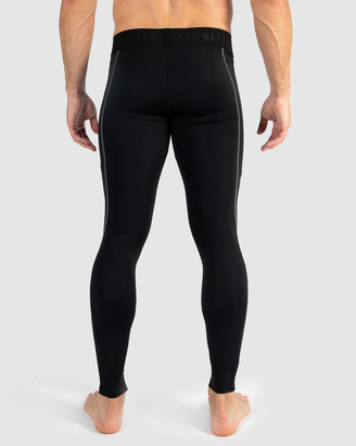 Muscle Republic - Men's Black Track Pants - Dark Knight Compression Tights - Size One Size, S at The Iconic
