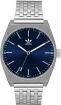 adidas Adidas Process M1 Silver & Navy Stainless Steel Strap Mens Watch