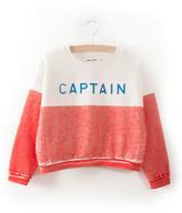 Bobo Choses Captain Boat Sweatshirt