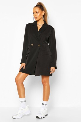 boohoo Oversized Boyfriend Blazer Dress