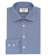 Thomas Pink Boulton Print Slim Fit Button Cuff Shirt