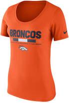 Nike Women's Denver Broncos Team Scoop T-Shirt
