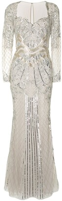 ZUHAIR MURAD Sequin-Embellished Fishtail Gown