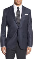 Nordstrom Men's Classic Fit Check Wool Sport Coat