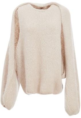 LVIR Mohair-Blend Bolero Knit Sweater