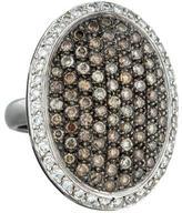 Ileana Makri 18K Light Brown and Colorless Diamond Ring