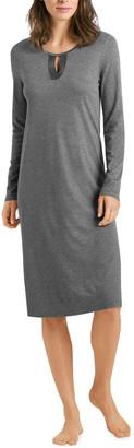 Hanro Fia Long-Sleeve Nightgown
