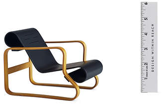 Design Within Reach Vitra Miniatures Collection: Aalto Nr. 41 Paimio, Black at DWR
