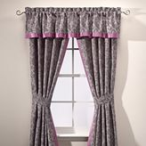 Manor Hill Cortlandt Window Valance in Grey