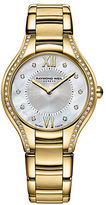 Raymond Weil Ladies Noemia Goldtone Watch with Diamonds