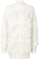 Loewe knitted sweater - women - Wool - S