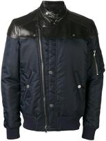 Diesel zip up biker jackets