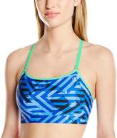 Champion Women's Absolute Cami Sports Bra with Smoothtec Band Print