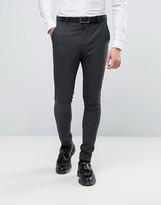 Selected Super Skinny Suit Pants In Tonic